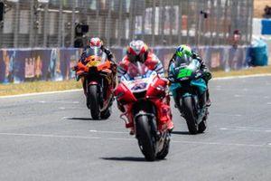 Jack Miler, Pramac Racing, Franco Morbidelli, Petronas Yamaha SRT, Pol Espargaro, Red Bull KTM Factory Racing