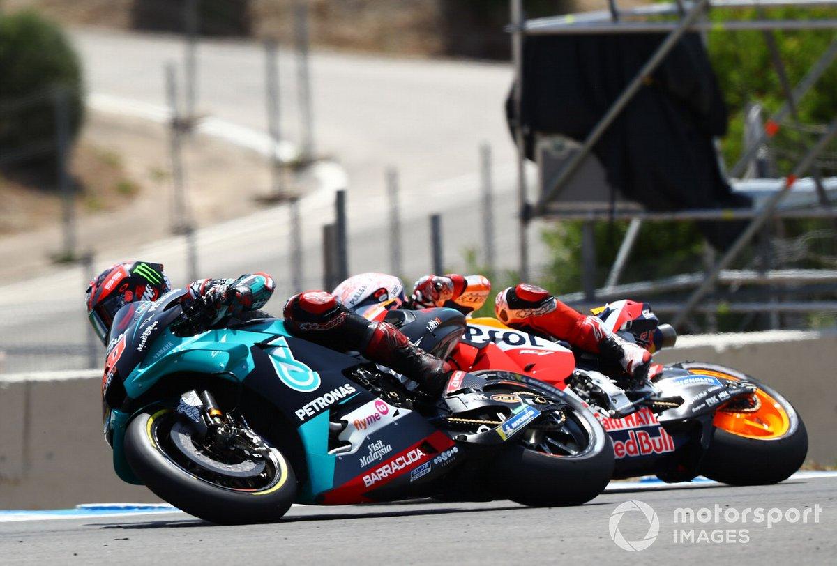 Fabio Quartararo, Petronas Yamaha SRT, Marc Márquez, Repsol Honda Team,