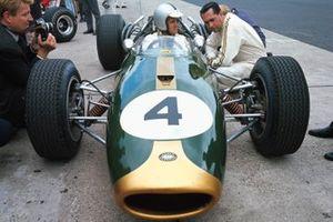 Denny Hulme, Brabham BT20 Repco, Team Owner Jack Brabham
