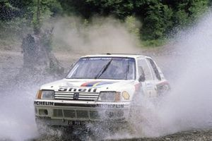 Timo Salonen, Seppo Harjanne, Peugeot 205 T16