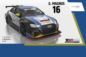 Gilles Magnus, Comtoyou Racing, Audi RS 3 LMS