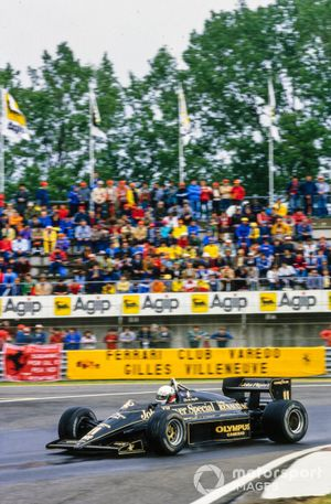 Elio de Angelis, Lotus 97T Renault