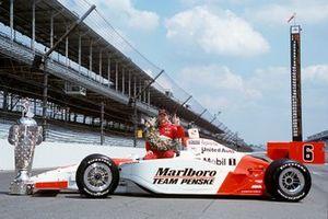 Le vainqueur Gil de Ferran, Penske-Toyota