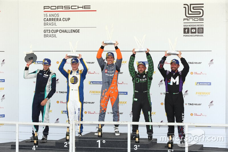 Primeiro pódio do ano na Sport 4.0 - Porsche