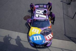 Kyle Busch, Joe Gibbs Racing, Toyota Camry M&M's Fudge Brownie