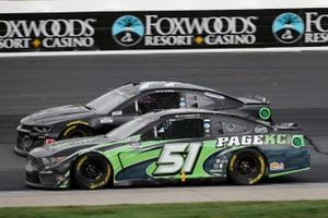 Joey Gase, Petty Ware Racing, Page Construction Ford Mustang, Garrett Smithley, Spire Motorsports, Spire Motorsports Chevrolet Camaro
