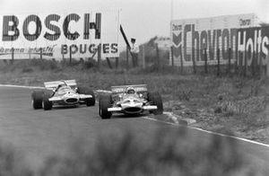 John Surtees, Team Surtees, McLaren M7C, Jack Brabham, Brabham BT33