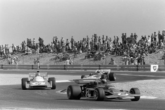 Reine Wisell, Lotus 72C Ford, Jean-Pierre Beltoise, Matra MS120B, John Surtees, Surtees TS9 Ford, GP di Francia del 1971