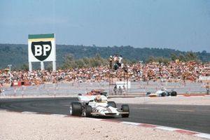Jo Siffert, BRM P160, Emerson Fittipaldi, Lotus 72D Ford, Chris Amon, Matra MS120B, GP di Francia del 1971