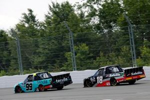 Ben Rhodes, ThorSport Racing, Ford F-150 and Christian Eckes, Kyle Busch Motorsports, Toyota Tundra Safelite AutoGlass