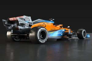 McLaren MCL35 livery