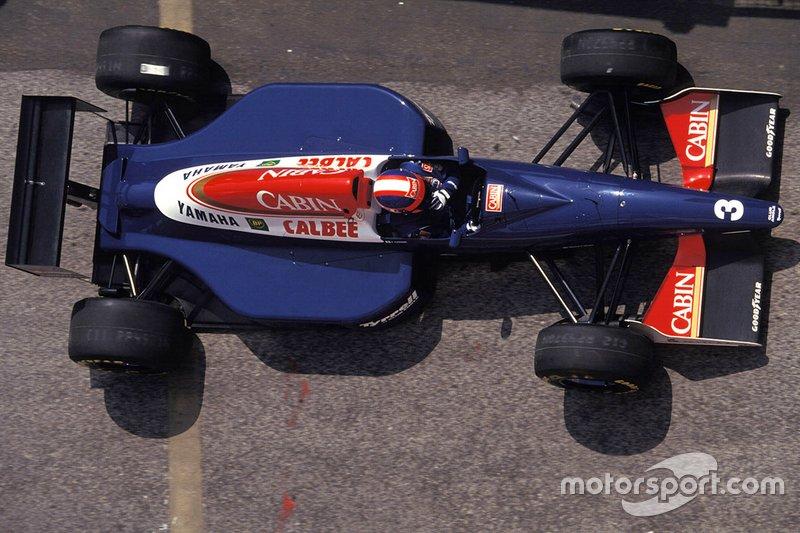 Ukyo Katayama, Tyrrell 020C Yamaha