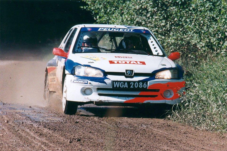 Jacek Jerschina, Andrzej Białowąs, Peugeot 106 Maxi