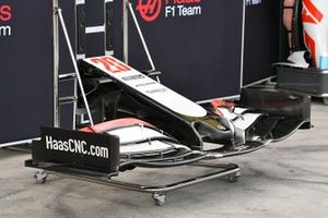 Haas nose and front wing