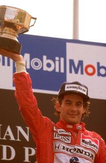 Ayrton Senna, McLaren, GP del Belgio del 1989