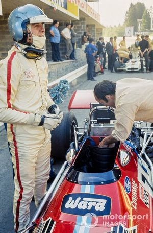 Piers Courage, De Tomaso 308 Ford y Frank Williams