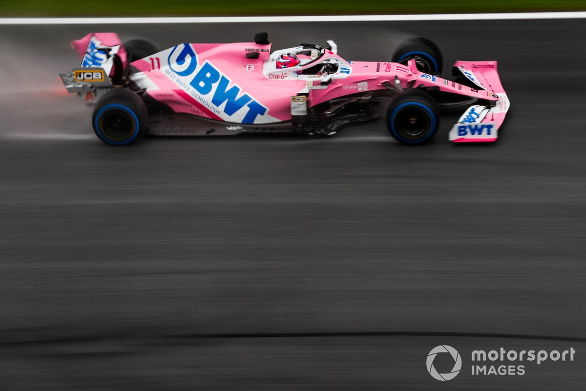 17 - Sergio Perez, Racing Point RP20