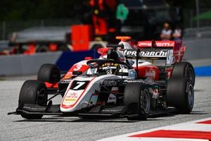 Theo Pourchaire, ART Grand Prix y Logan Sargeant, Prema Racing