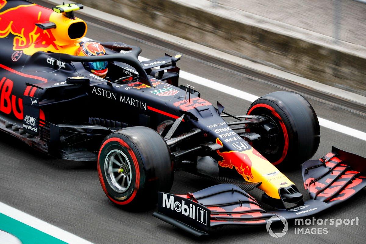 Alex Albon, Red Bull Racing RB16, 1m15.715s