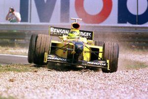 Ausritt: Ralf Schumacher, Jordan 198
