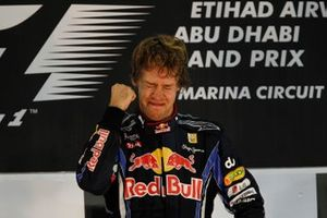 Sebastian Vettel, Red Bull Racing celebrates his victory