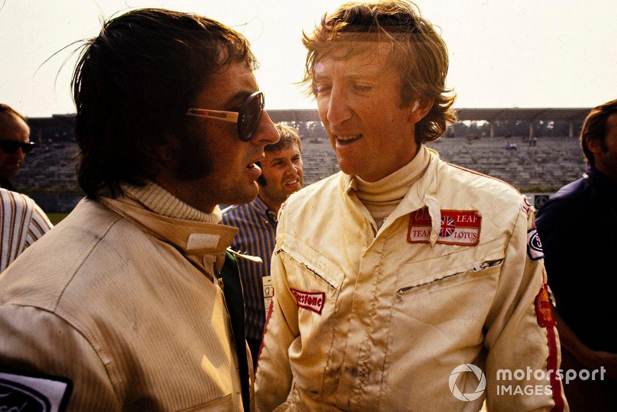 Jackie Stewart y Jochen Rindt