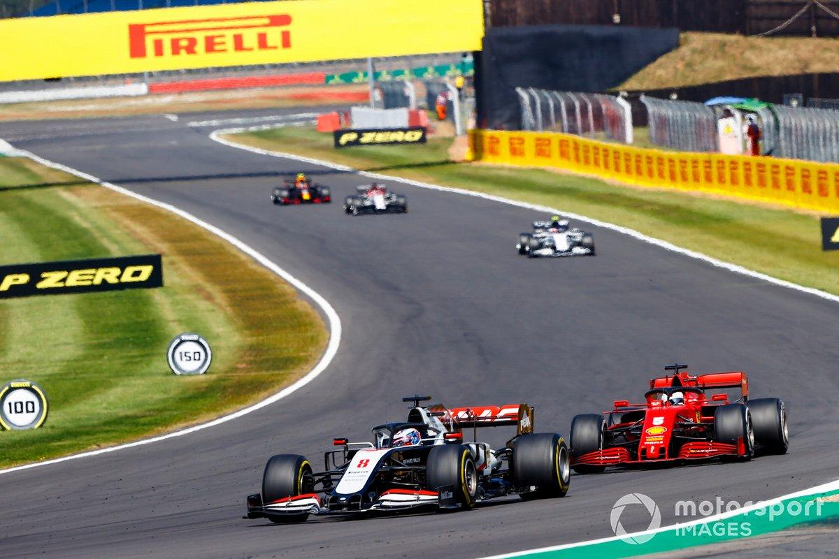 Romain Grosjean, Haas VF-20, Sebastian Vettel, Ferrari SF1000, Pierre Gasly, AlphaTauri AT01