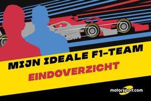 Mijn ideale F1-team: eindoverzicht