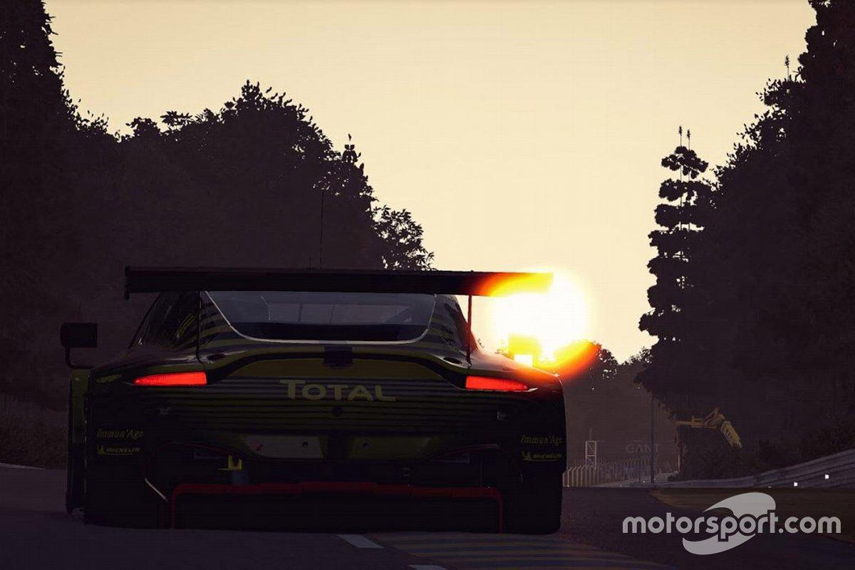 #98 Aston Martin Racing Aston Martin Vantage GTE: Darren Turner, Ross Gunn, Jonathan Adam, Giuseppe De Fuoco