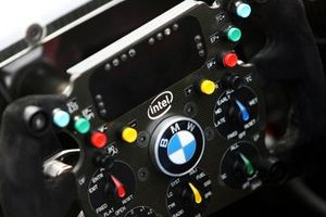 BMW Sauber F1.07 steering wheel