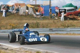 François Cevert, Tyrrell 006 Ford, con sobreviraje