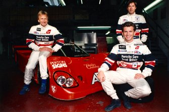 Derek Bell, Justin Bell, Tiff Needell, Porsche 962C