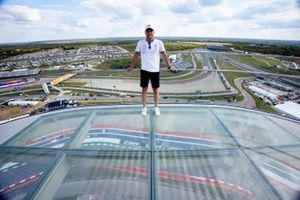 Valtteri Bottas, Mercedes at the top of the viewing tower
