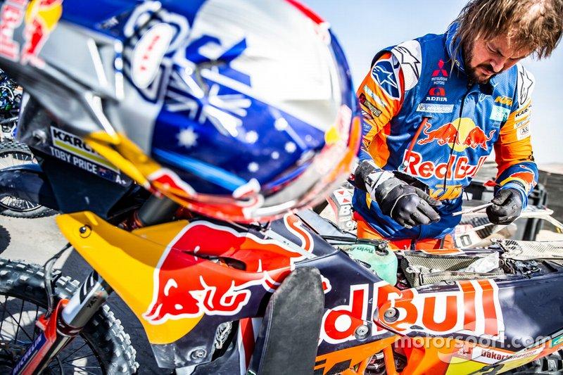 #3 Red Bull KTM Factory Racing KTM: Тобі Прайс