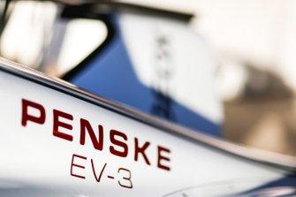 Detail of Maximilian Günther, Dragon Racing, Penske EV-3 car