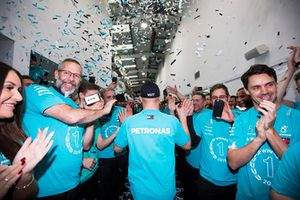 Valtteri Bottas, Mercedes AMG F1 World Championship celebration
