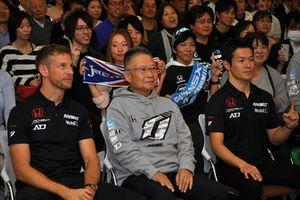 Kunimitsu Takahashi, Naoki Yamamoto, Jenson Button