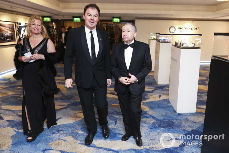 James Allen and FIA President Jean Todt