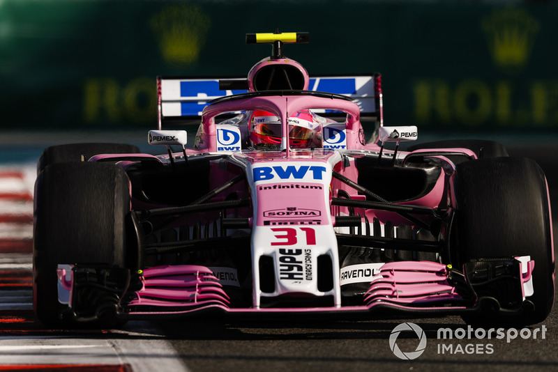 Esteban Ocon, Racing Point Force India VJM11 - 2018
