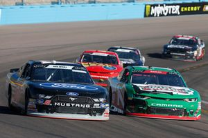 Ty Majeski, Roush Fenway Racing, Ford Mustang Ford, Elliott Sadler, JR Motorsports, Chevrolet Camaro Chevrolet Hunt Brothers Pizza
