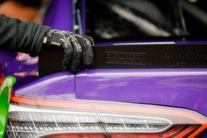 Denny Hamlin, Joe Gibbs Racing, Toyota Camry FedEx Express crew member