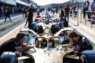 Jean-Eric Vergne, DS TECHEETAH, Andre Lotterer, DS TECHEETAH, DS E-Tense FE19