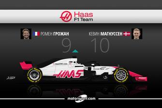 Дуэль в Haas F1 Team: Грожан – 9 / Магнуссен – 10