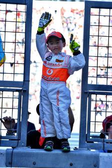 Young McLaren fan