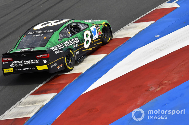 11. Daniel Hemric, Richard Childress Racing, Chevrolet Camaro Smokey Mountain Herbal Snuff