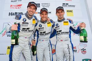 Podium: #35 Walkenhorst Motorsport BMW M6 GT3: Jonathan Hirschi, Jordan Tresson, Hunter Abbott