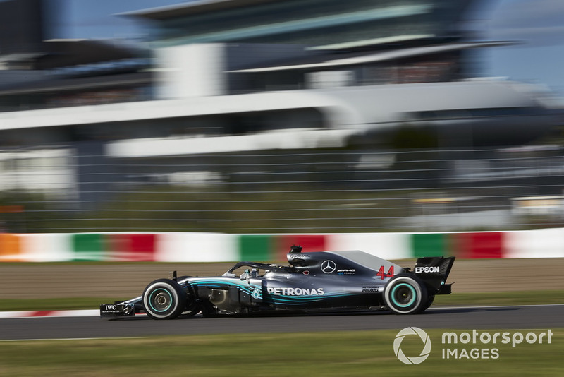 17. GP Jepang - Pemenang: Lewis Hamilton