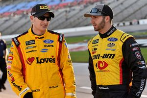 Michael McDowell, Front Row Motorsports, Ford Fusion Love's/ Luber Finer e Matt DiBenedetto, Go FAS Racing, Ford Fusion Can-Am/Wholey
