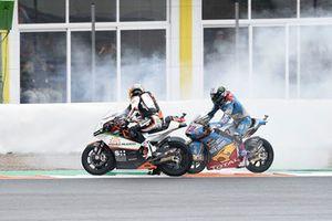 Iker Lecuona, Swiss Innovative Investors Miguel Oliveira, Red Bull KTM Ajo et Alex Marquez, Marc VDS, qui fait un burn