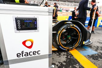 The DS Techeetah charging station on the grid
